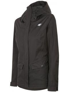 Women's urban jacket KUD301 - deep black