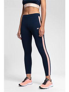 Women's active leggings LEG400 - dark navy melange