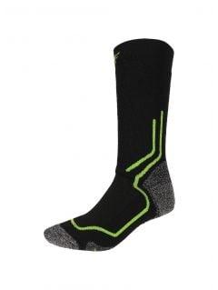 Unisex trekking socks SOUT200 - black