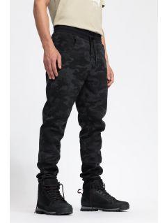 Men's sweatpants SPMD204 - black allover