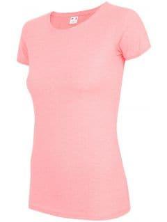 Women's T-shirt TSD300 - salmon pink melange