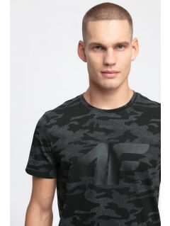 Men's T-shirt TSM272 - black allover