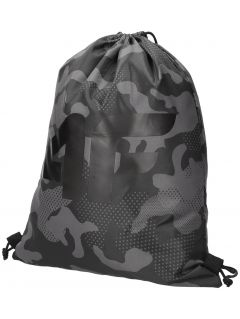 Drawstring backpack for boys JBAGM100 - black