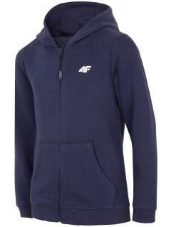 Hoodie for younger children (boys) JBLM103 - navy