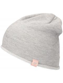 Hat for younger girls JCAD101 - light grey melange