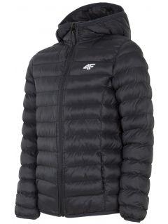 Down jacket for older children (boys) JKUMP206 - black