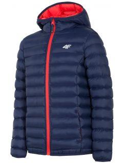 Down jacket for older children (boys) JKUMP206 - navy