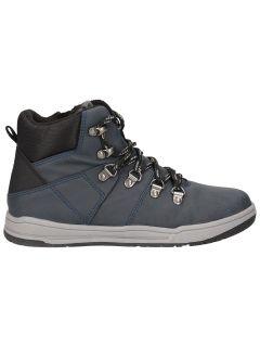 Autumn boots for older children (boys) JOBMA203 - navy