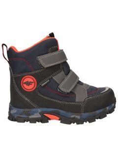 Winter boots for older children (boys) JOBMW406 - sea green