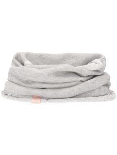 Tunnel scarf for younger girls JSZD100 - light grey melange