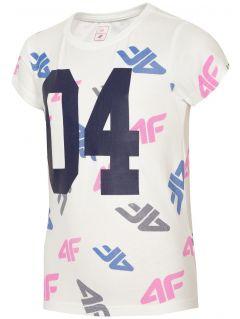 T-shirt for older children (girls) JTSD210 - white