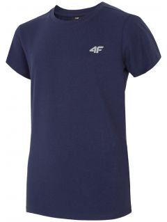 T-shirt for older children (boys) JTSM204 - navy
