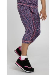 Leggings for small girls Jleg300 - multicolor melange