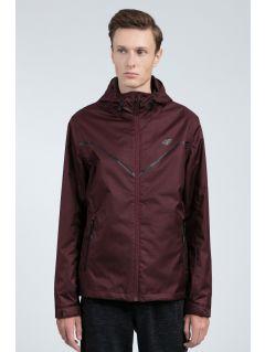 Men's urban jacket KUM207 - burgundy melange