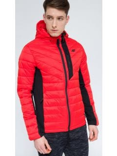 Men's down jacket KUMP303 - red
