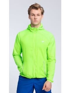 Men's active jacket KUMTR001 - neon green