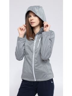 Women's softshell jacket SFD301 - light gray