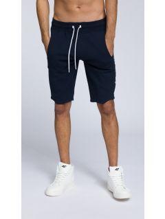Men's knit shorts SKMD255 - dark navy
