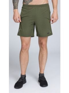 Men's active shorts SKMF251 -  khaki