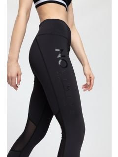 Women's active leggings SPDF205 - black