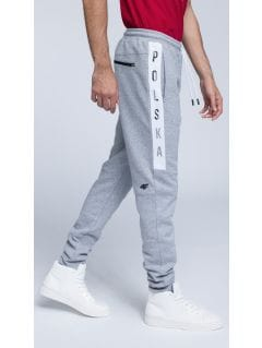 SPORTS FAN SWEATPANTS FOR MEN SPMD500 - GREY MELANGE