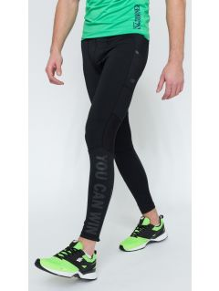 Men's active pants SPMF200 - black