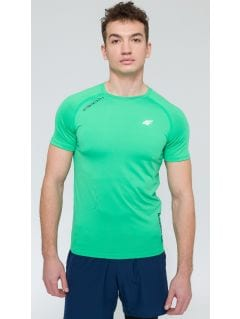 Men's active T-shirt TSMF203 - green