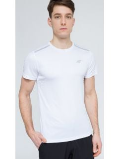 Men's active T-shirt tsmf205 - white