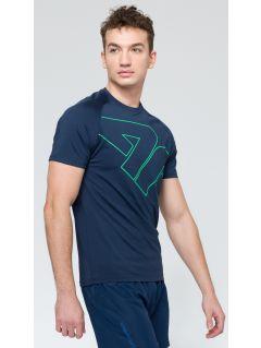 Men's active T-shirt tsmf222 - navy