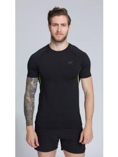 Men's active T-shirt TSMF252 - black