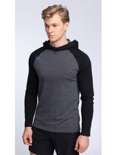 Men's longsleeve TSML002 - dark grey melange