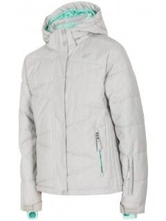 b6f46e420 Ski jacket for older children (girls) JKUDN400 - grey melange