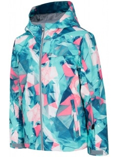 fa467efc6 Ski jacket for older children (girls) JKUDN401A - mint allover