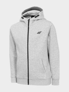 a395eb022c3df Sweatshirt for boys JBLM200 - cold light grey melange