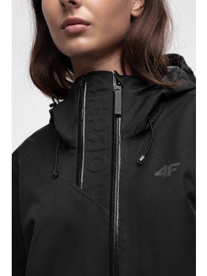Women's trekking jacket KUDT204 - black