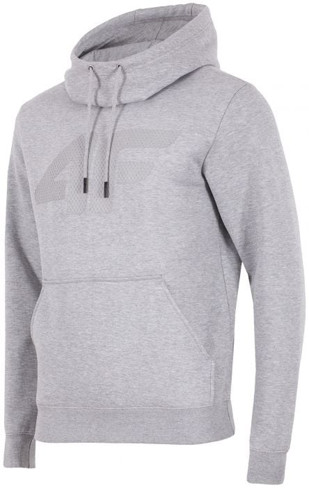 47a82b6135cfe3 Men s hoodie BLM302 - light grey melange