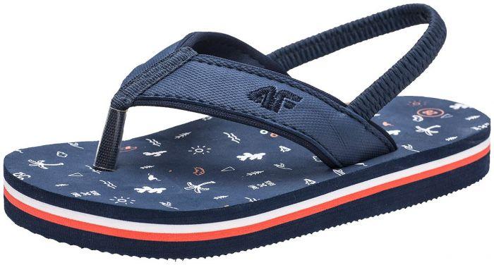 4c6ca542c Flip-flops for small boys JKLM103 - dark navy