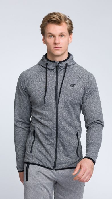 90e4f3b7bfd Men s hoodie blm004 - dark gray melange