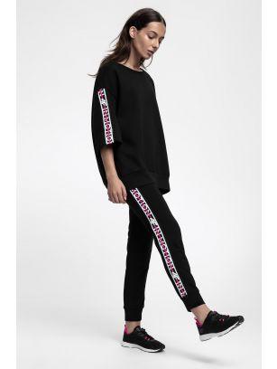 Women's sweatshirt BLD217 - black
