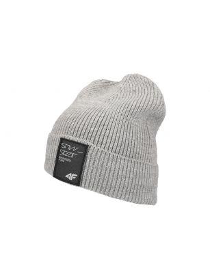 Men's hat CAM250 - grey melange