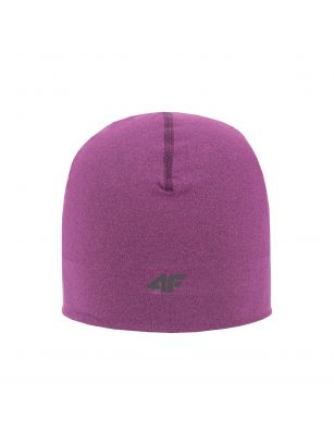 Unisex sports hat CAU200 - dark pink melange
