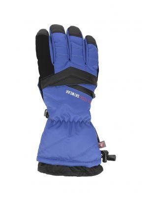 Men's ski gloves REM150 - cobalt blue