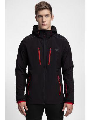 Men's softshell jacket SFM200 - black