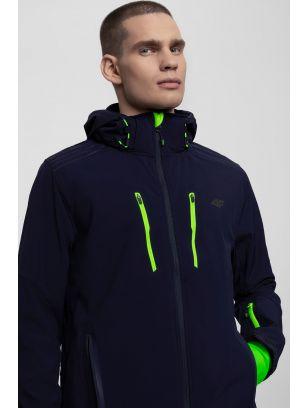 Men's softshell jacket SFM200 - navy