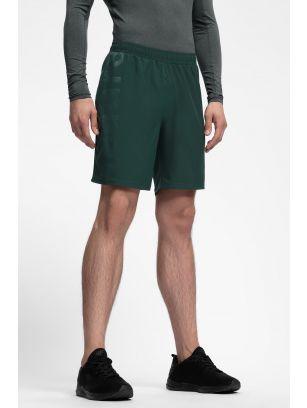 Men's active shorts SKMF252 - dark green