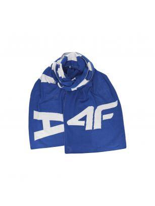 Women's scarf SZD202 - cobalt blue