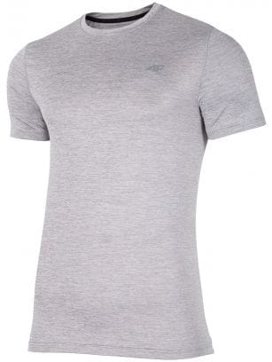 Men's active T-shirt TSMF301 -  cool light grey melange