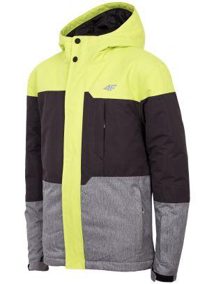 Ski jacket for older children (boys) JKUMN408 - fresh green