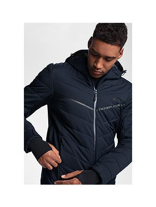 Men's ski jacket KUMN152R - navy