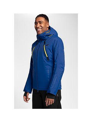 Men's ski jacket KUMN153 - cobalt blue